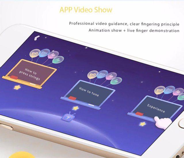 Xiaomi Populele Smart Ukulele App