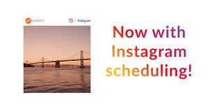 Schedule posts in advance