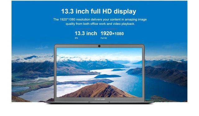 Teclast F6: Display