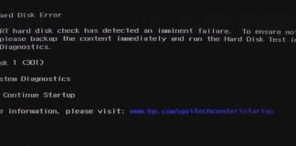 smart hard disk error