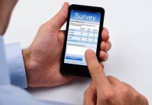 online survey filling