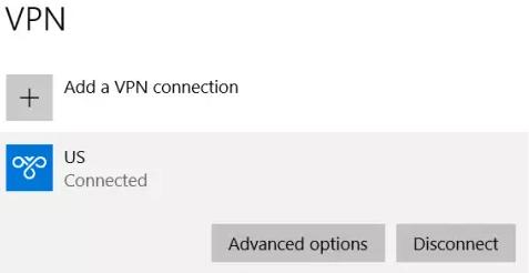 VPN An Internal Error has Occurred