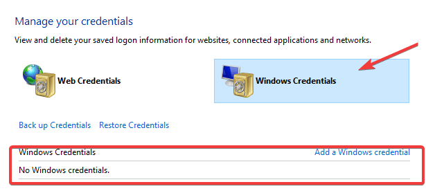 Credential-manager2 A Specified Logon Session Does Not Exist