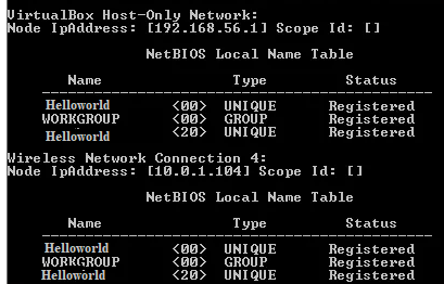 network names A Duplicate Name Exists on the Network