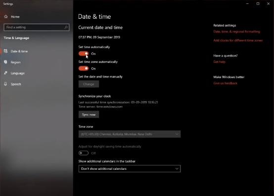 ORIGIN TIME AND DATE origin stuck in offline mode