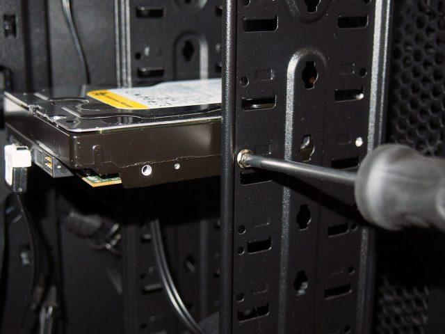 Reinstall hard disk