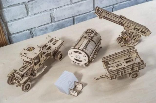 Learn Basic Mechanics with UGears Toys