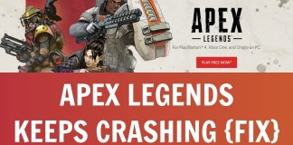 Apex Legends Keeps Crashing