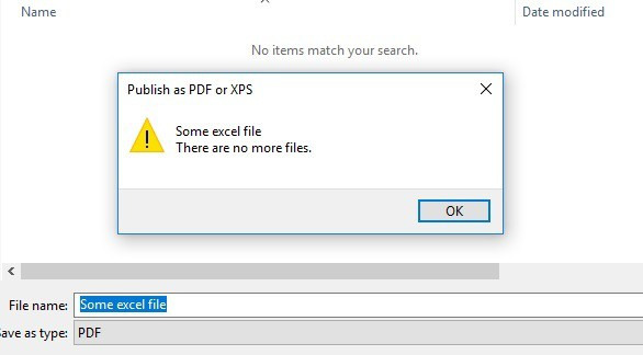 There are no more files