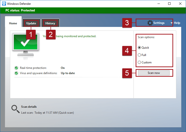 Windows Defender The Program Issued a Command but the Command Length is Incorrect