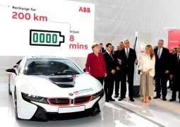Dünyanın en hızlı elektrikli araç şarj cihazı!