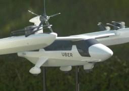 Uber uçan taksi tanıtımını yaptı
