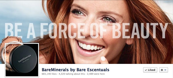 Bare Minerals by Bare Escentuals Timeline