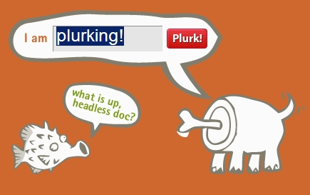 Plurk Main Screen