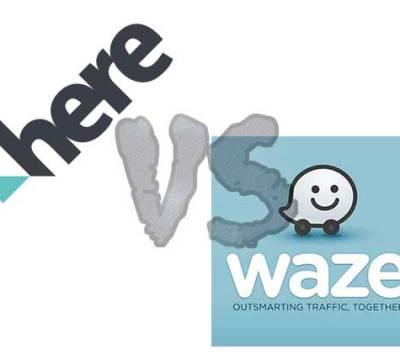 HERE WeGo vs Waze