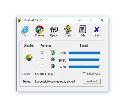 UltraSurf 19.02