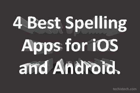 Apps to Improve Spelling and Grammar