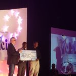 Team Vuga receive a recognition for ICT visionary