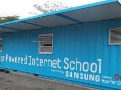 solar powered internet schools