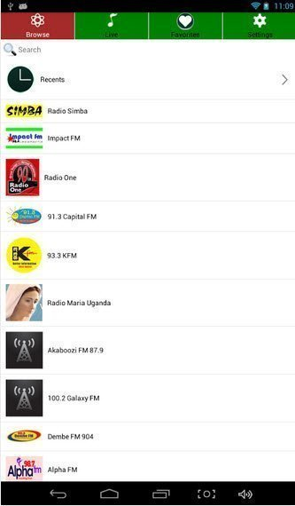 FM radio app radio uganda