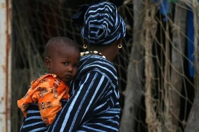 african mum
