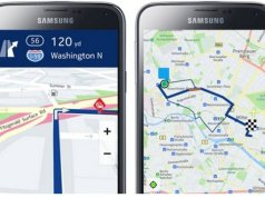 Nokia Here maps on Samsung Galaxy