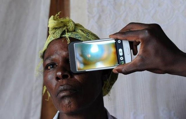 PEEK app to fight blindness