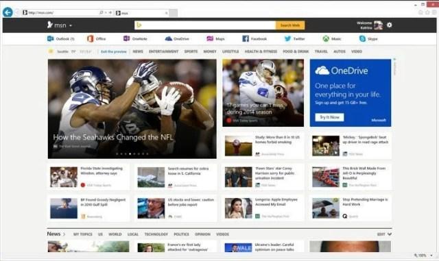New MSN Portal