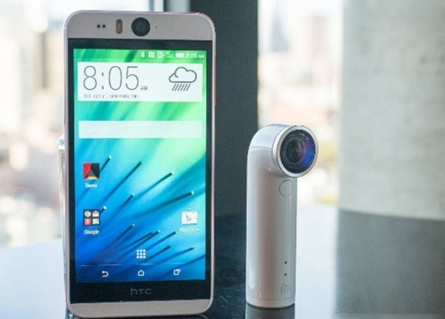 HTC desire Eye and HTC RE Camera