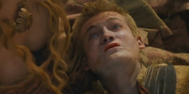The death of Joffrey Baratheon