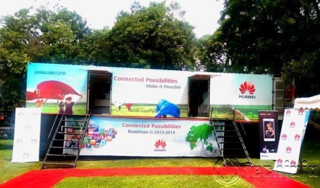 huawei road show 2014