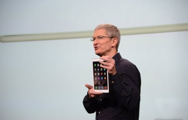 iPad Air 2 tim cook