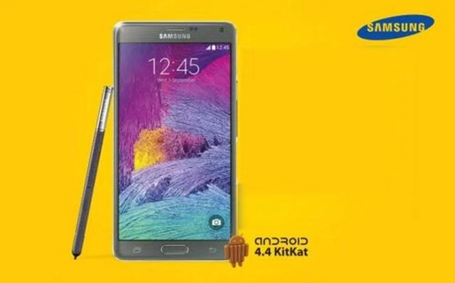 Galaxy Note 4 MTN