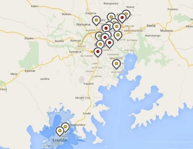 Vodafone Coverage map techjaja