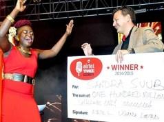 Airtel Trace music star winner 2015 Sandra