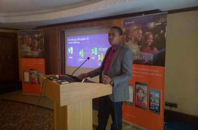 Microsoft Luma 532 and lumia 435 launch in Uganda