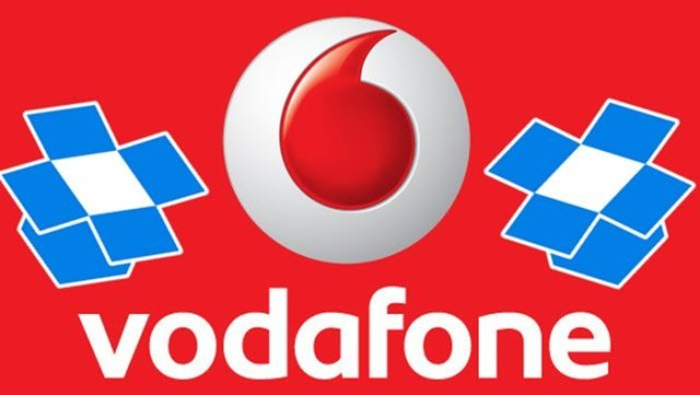 Vodafone and dropbox