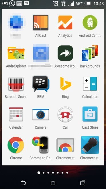 Whats on my Android Phon_App drawer_1