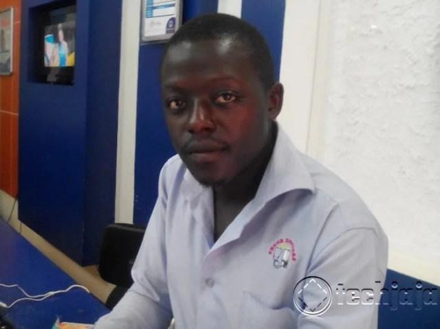 Alex Kalwaza idroid technician