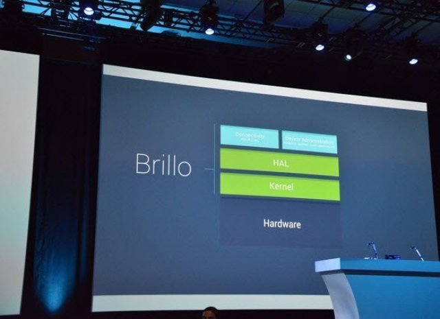 IoT Brillo at  IO 2015