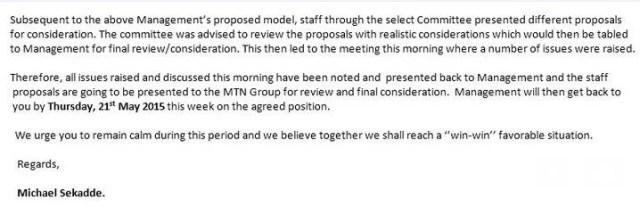 MTN works resign