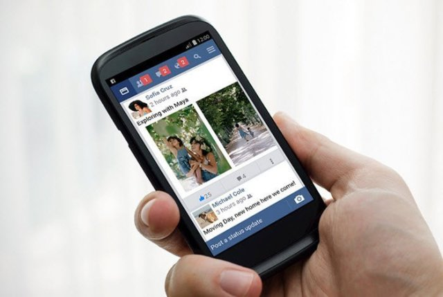 Facebooklite on mobile