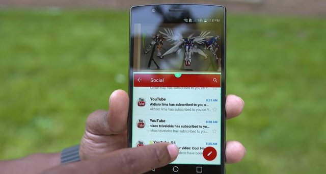 LG G4 review software multitasking