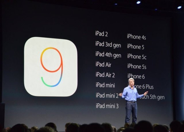 WWDC 2015  iOS 9 on devices