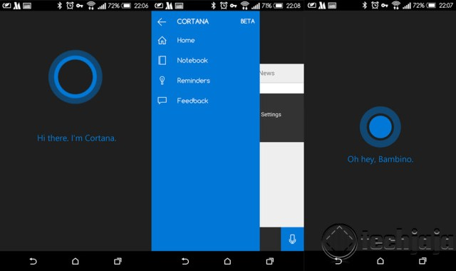cortana on android