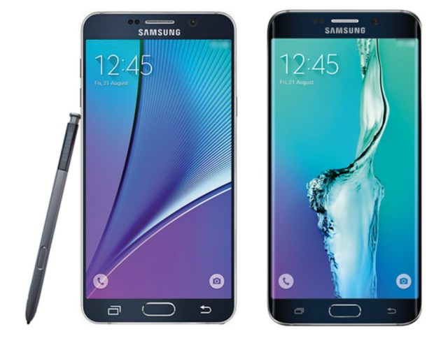 Galaxy Note 5 and GS6 Plus