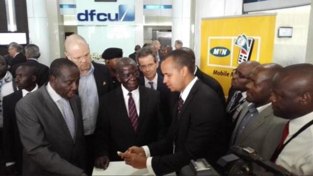 DFCU on MTN mobile money