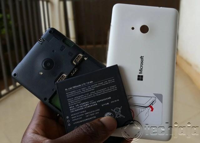Lumia 535_Battery