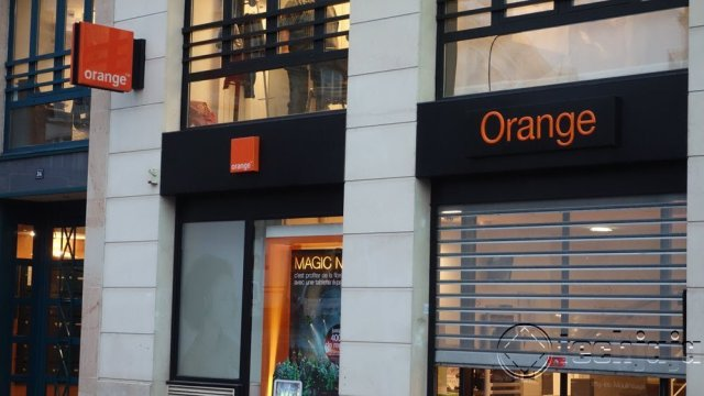 Orange exits kenya