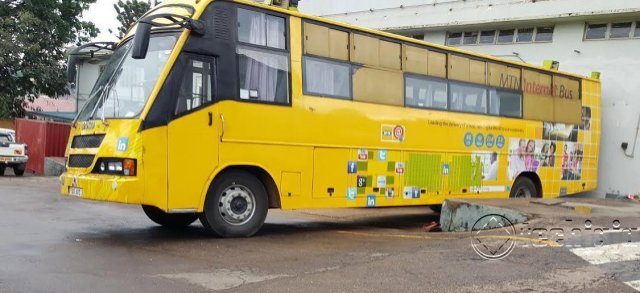 internet bus for MTN